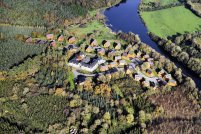Erne River Lodges - Aerial View